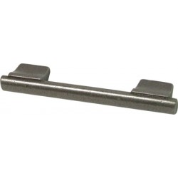 356mm Pewter Finish Bar Handle - 320mm Centres
