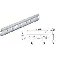 Kitchen cabinet hanging bracket wall mounting rail