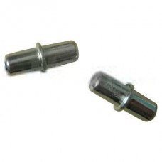 100 x 5mm Bright Galvanised Shelf Support Stud Pegs