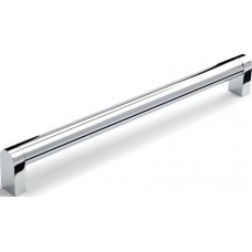 364mm Polished Chrome Bar Handle - 20mm Bar - 352mm Centres