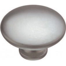 34mm Cabinet Door Knob in Stainless Steel Finish