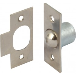 Nickel Plated Bales Roller Catch - 19mm