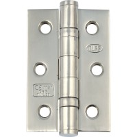 Ball Bearing Door Hinges - Satin Stainless Steel - 76 x 51 x 2mm