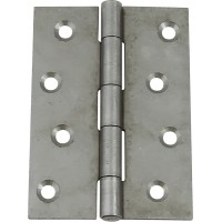 Pair of Steel Door Hinges - 100mm x 71mm