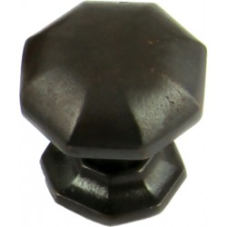 32mm Cabinet Door Knob - Rubbed Bronze