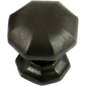 38mm Cabinet Door Knob - Rubbed Bronze