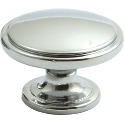 38mm Polished Chrome Cabinet Door Knob