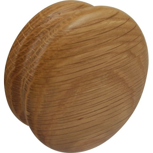 Cabinet Door Knob Oak 70mm