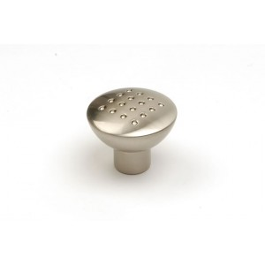 33mm Dimpled Stainless Finish Cabinet Door Knob