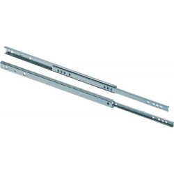 17mm Single Extension Ball Bearing Drawer Runners 250mm
