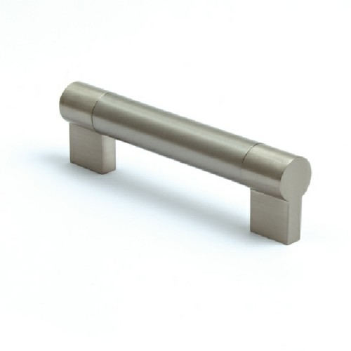 185mm Brushed Stainless Steel Keyhole Cabinet Handle - 160mm Centres