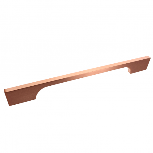 Bioko Brushed Copper Bar Handle - 192mm Centres