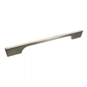 Bioko Brushed Satin Nickel Bar Handle - 192mm Centres
