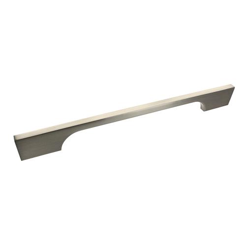 Bioko Brushed Satin Nickel Bar Handle - 192mm Centres