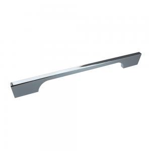 Bioko Polished Chrome Bar Handle - 192mm Centres