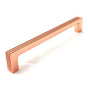 Darini Polished Copper Cabinet Handle - 160mm Centres