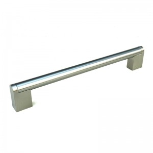 156mm Stainless Steel Finish Boss Handle - 128mm Centres