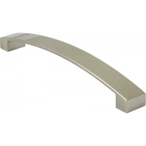 Bow Handle in Brushed Nickel Finish