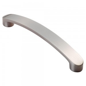 178mm Stainless Finish Cabinet Handle - 160mm Centres