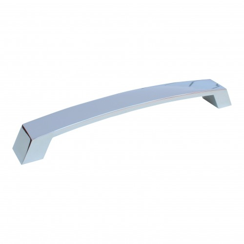 208mm Polished Chrome Bow Handle - 192mm Centres