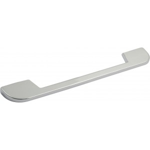 Slim Bar Polished Chrome D Handles - Dual Centres