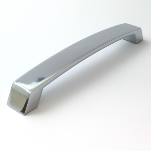 Polished Chrome Cabinet Bow Handle - 192mm Centres