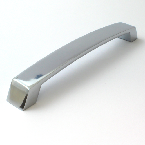 Polished Chrome Cabinet Bow Handle - 160mm Centres