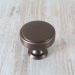 Calgary American Copper Cabinet Knob - 40mm