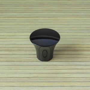 Malvern 35mm Polished Black Nickel Cabinet Knob