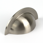 Monmouth Brushed Stainless Steel Cup Handle | 64mm Centres