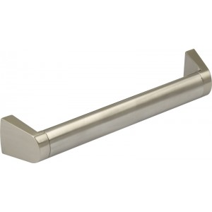 172mm Cabinet Door Handle - Oval Bar - 160mm Centres