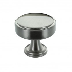 Calgary Door Knob - Brushed Satin Nickel