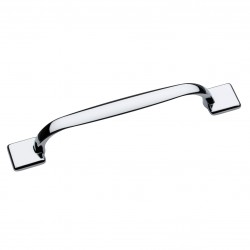 Georgia Polished Chrome Bar Handle - 128mm Centres