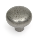 Brecon Pewter Finish Cabinet Knob - 35mm