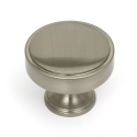 Calgary Brushed Satin Nickel Cabinet Knob - 40mm
