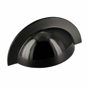 Monmouth Polished Black Nickel Cup Handle | 64mm Centres