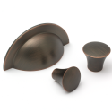 Monmouth American Copper Cup Handle | 64mm Centres