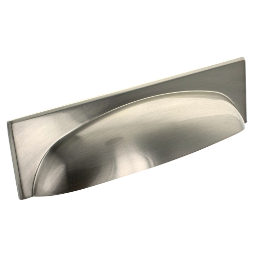 Brushed Satin Nickel Georgia Cup Handle | 128mm Centres