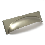 Georgia Brushed Satin Nickel Cup Handle | 96mm Centres