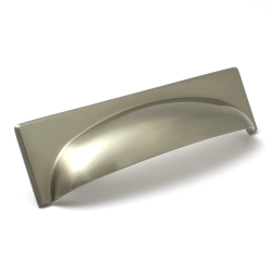 Georgia Brushed Satin Nickel Cup Handle | 128mm Centres
