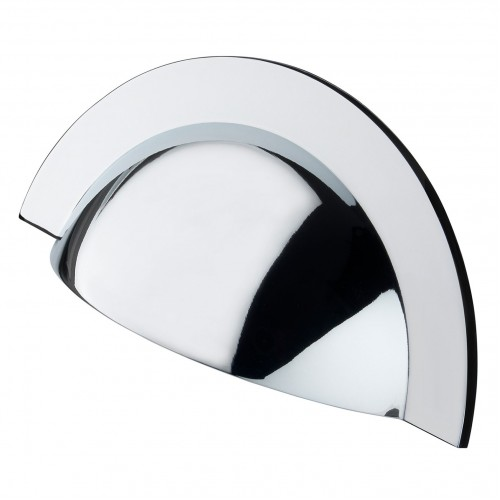 Monmouth Polished Chrome Cup Handle | 64mm Centres