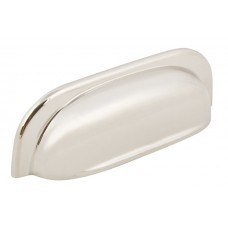 128mm Polished Nickel Cup Handle - 96mm Centres