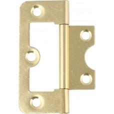 105 Flush Door Hinge - 60mm x 26mm - Zinc Plated