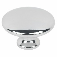 34mm Cabinet Door Knob in Polished Chrome