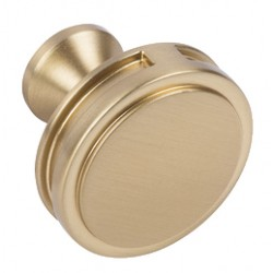 Oberon 35mm Champagne Gold Cabinet Door Knob