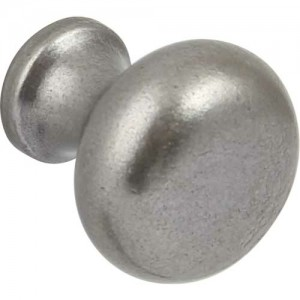 35mm Pewter Finish Traditional Cabinet Door Knob