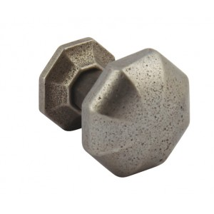 32mm Cabinet Door Knob - Pewter Finish