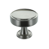 Calgary 40mm Brushed Satin Nickel Cabinet Knob