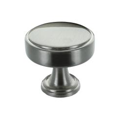 Calgary 40mm Brushed Satin Nickel Cabinet Knob