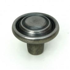 32mm Traditional Cabinet Door Knob - Antique Pewter